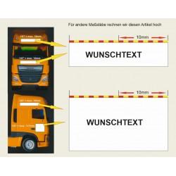 Wunschfirma Zugmaschine