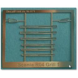 Scania R04 Grill 1