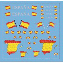 Flaggenset Spanien