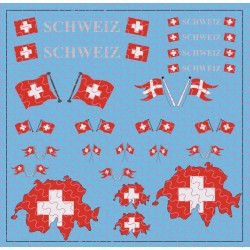 Flaggenset Schweiz