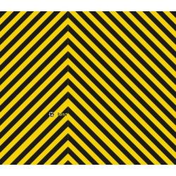 Warnstreifen gelb/schwarz