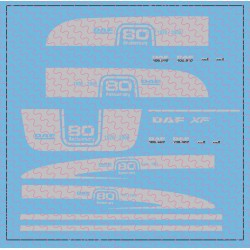 DAF XF 105 SSC 80 anniversary