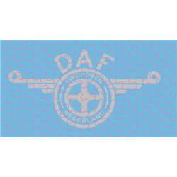 DAF Logo, groß, ganz