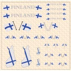 Flaggenset Finnland