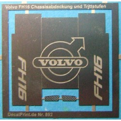 Volvo FH16 Chassisabdeckung...