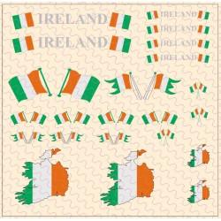 Flaggenset Irland