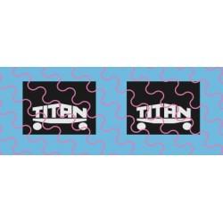 Titan Spritzschutzlappen klein