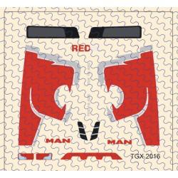 MAN Red Lion Edition Dekor
