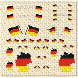 Flaggenset Österreich