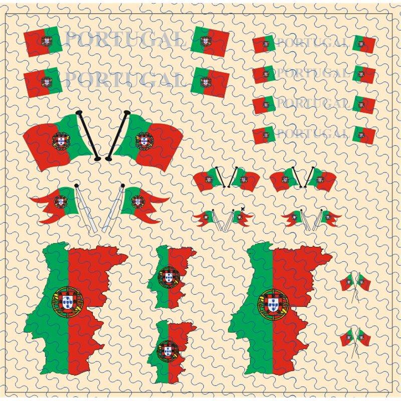Flaggenset Portugal