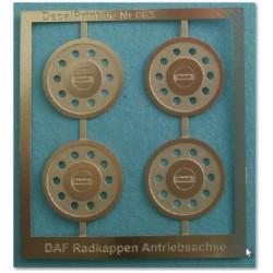 DAF Radkappen Antriebsachse