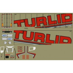 Decalsatz F-0956b Turlid