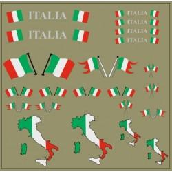 Flaggenset Italien