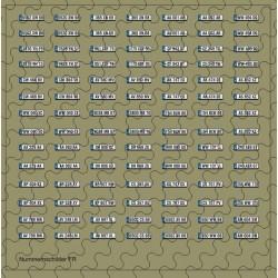 Nummernschildsatz FR