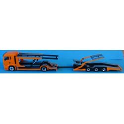 LKW-Transporter Hängerzug...