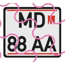 Kennzeichen A/quadratisch