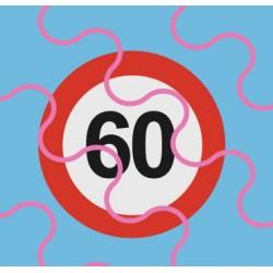 60km/h Schild