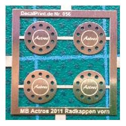 MB Actros 2011 Radkappen vorn