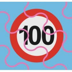 100km/h Schild