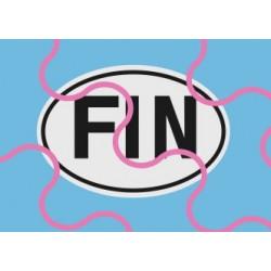 Länderschild FIN