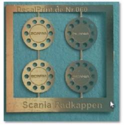 Scania Radkappen