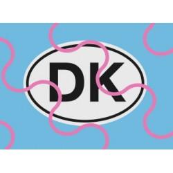 Länderschild DK