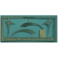 Actros MP4 Kotflügelblenden...